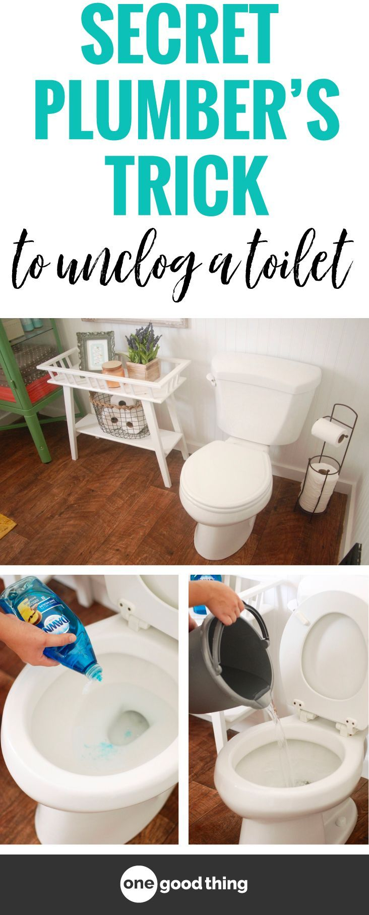 Learn How to Unclog a Toilet with this Secret Plumberus Trick