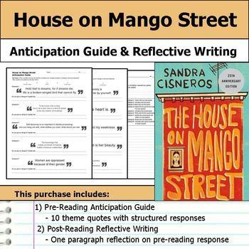 House on Mango Street Anticipation Guide & Reflection