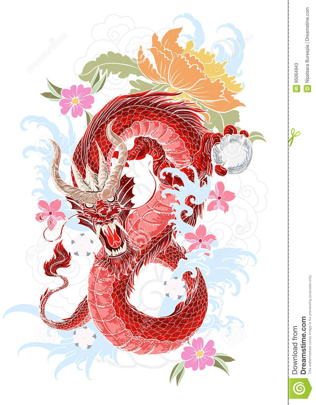 Pin By Rosada Jade Chung Haines On Dragons Japanese Flower Tattoo Dragon Tattoo Tattoo Japanese Style