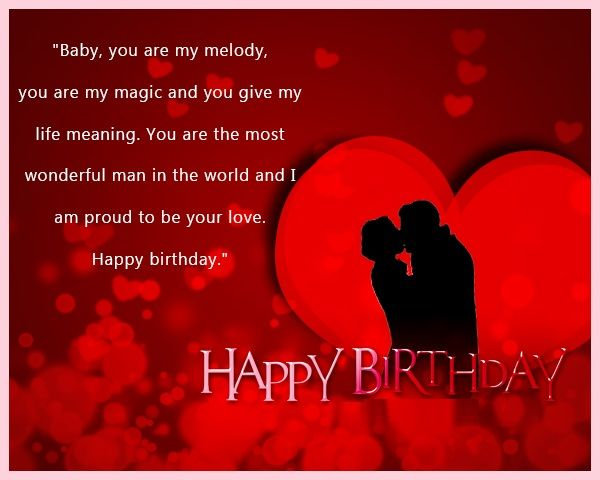 Romantic Birthday Wishes For Lover Happy Birthday Love Quotes Happy Birthday Love Birthday Wishes For Lover