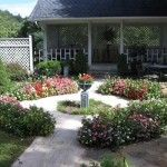 The Herren House in Waynesville NC does a lot of events in their garden courtyard.