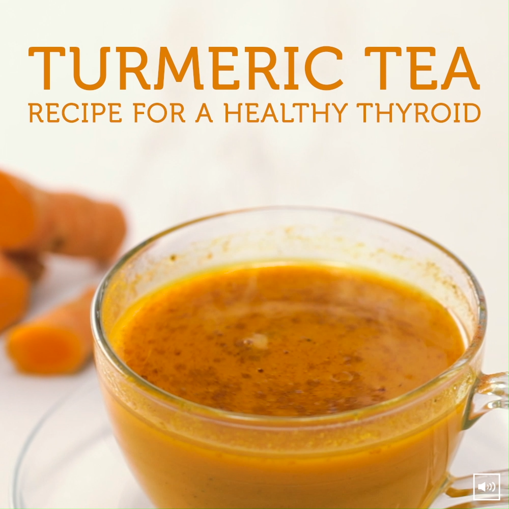 TURMERIC TEA RECIPE FOR A HEALTHY THYROID [INFOGRAPHIC] | Turmeric has been historically known for its many health benefits and this simple turmeric tea recipe may help you optimize your thyroid treatment plan! #thyroid #turmeric #tearecipes #dr.seeds