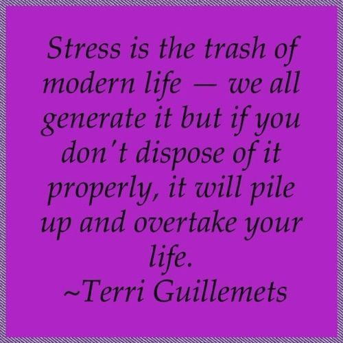 Don't let stress consume you!