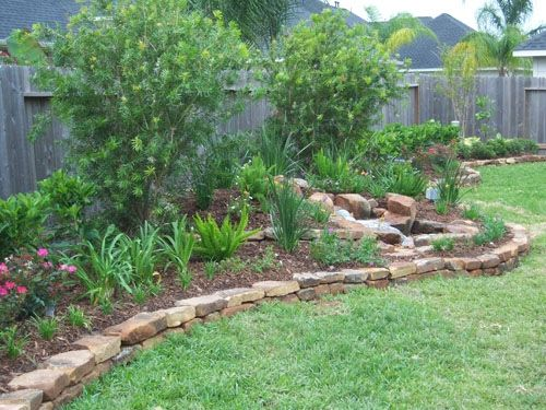 Flower Beds With Rock Borders My Home Colors Landscape Edging Landscaping With Rocks Garden Borders