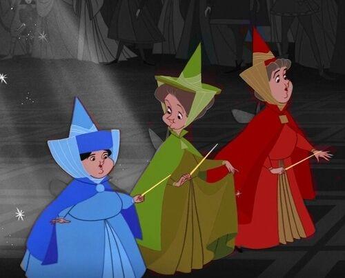 Sleeping Beauty Fairies These Were Always My Favourite Fairy