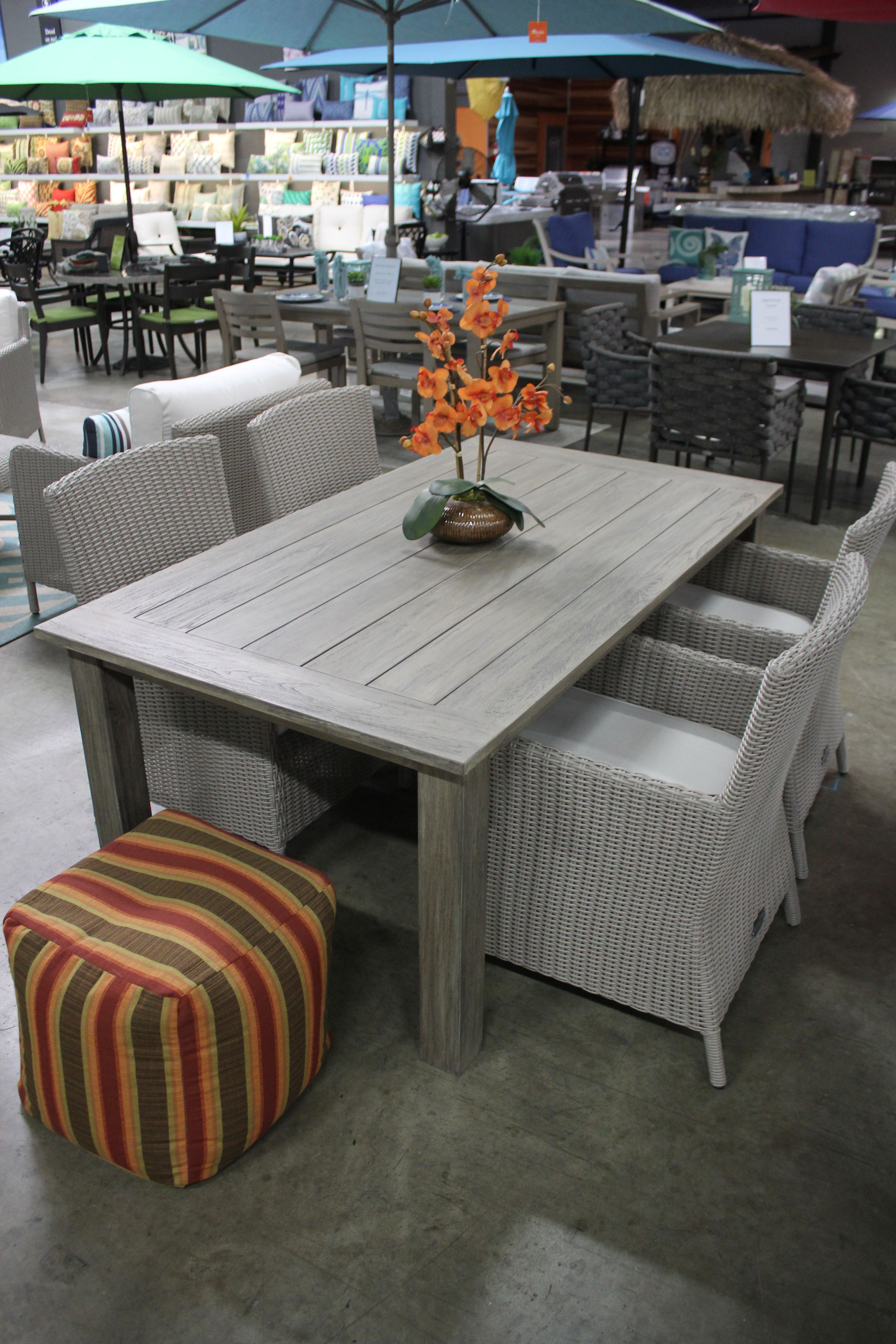 5 piece dining table in our showroom at summerset superstore