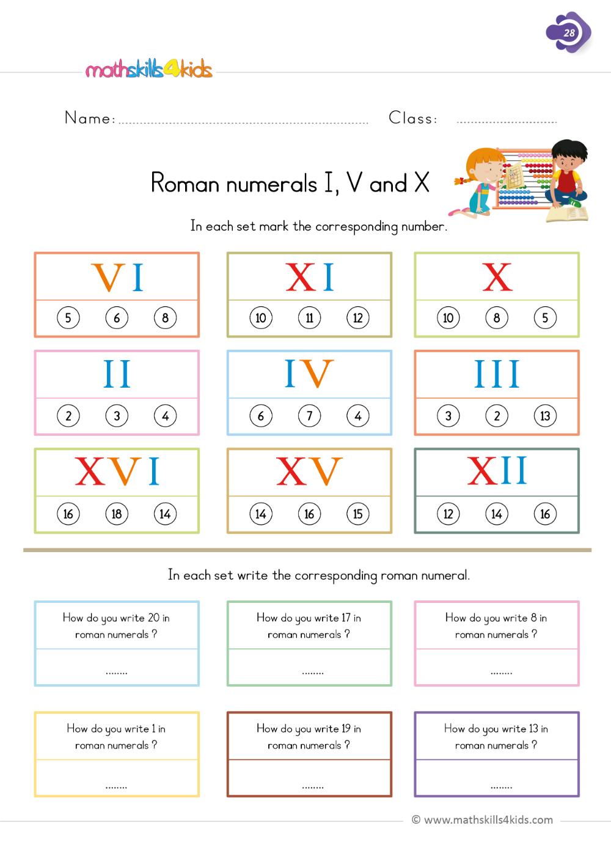 Roman numerals I [ 1413 x 1000 Pixel ]