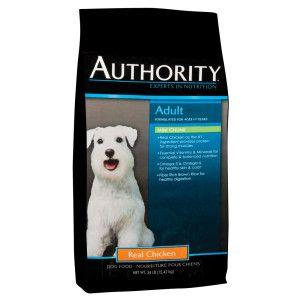 Authority® Mini Chunk Adult Dog Food Dry Food PetSmart