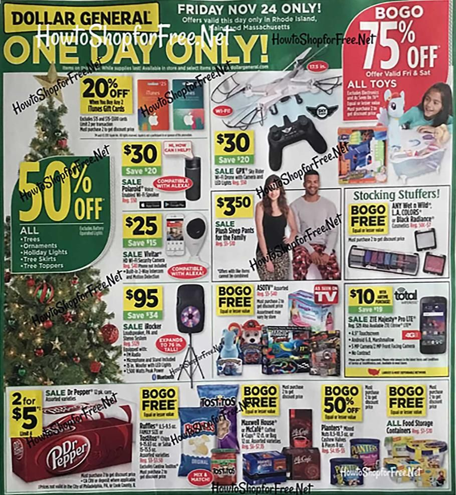 Dollar general black friday 2017 ad scan deals and sales
