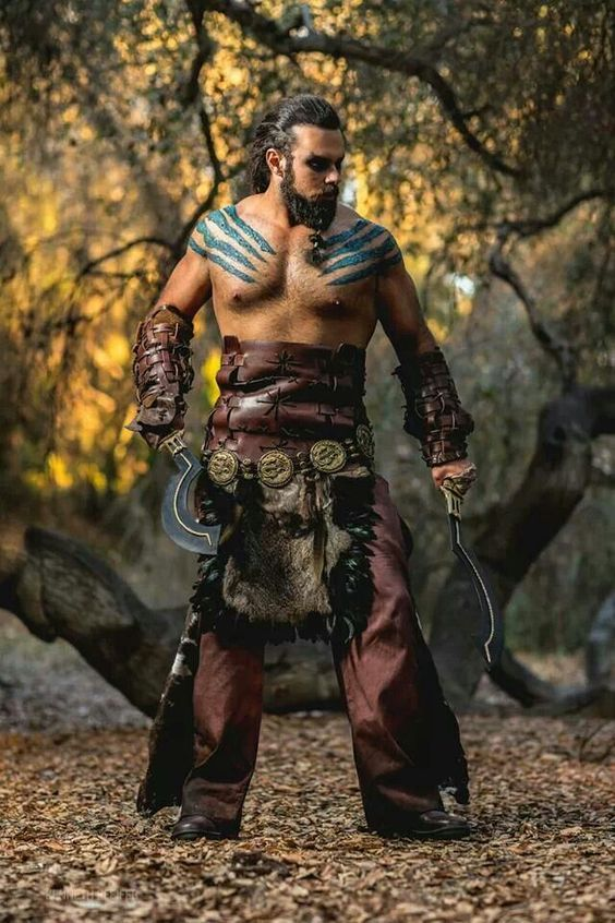 Drogo Game Of Thrones : drogo, thrones, Drogo, Halloween, Costume, Maskerix.com, Thrones, Costumes,, Trendy, Games,