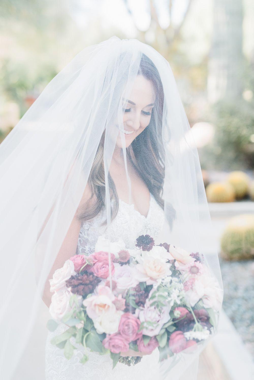 Romantic Soft Garden Elopement In Las Vegas Weddings Wedding