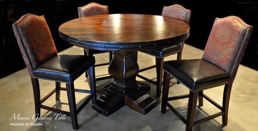 Mancini Rustic Hacienda Style Dining Room Furniture