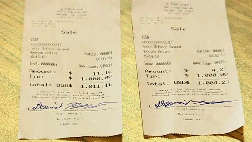 Truck Driver Leaves Oklahoma Waitress Two 1000 Tipshttp -5320
