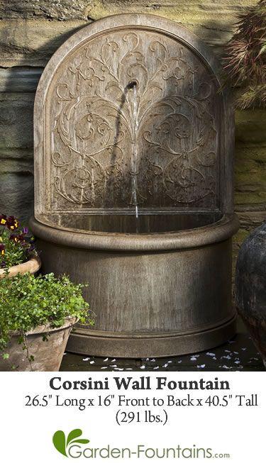 *Corsini Wall Fountain*