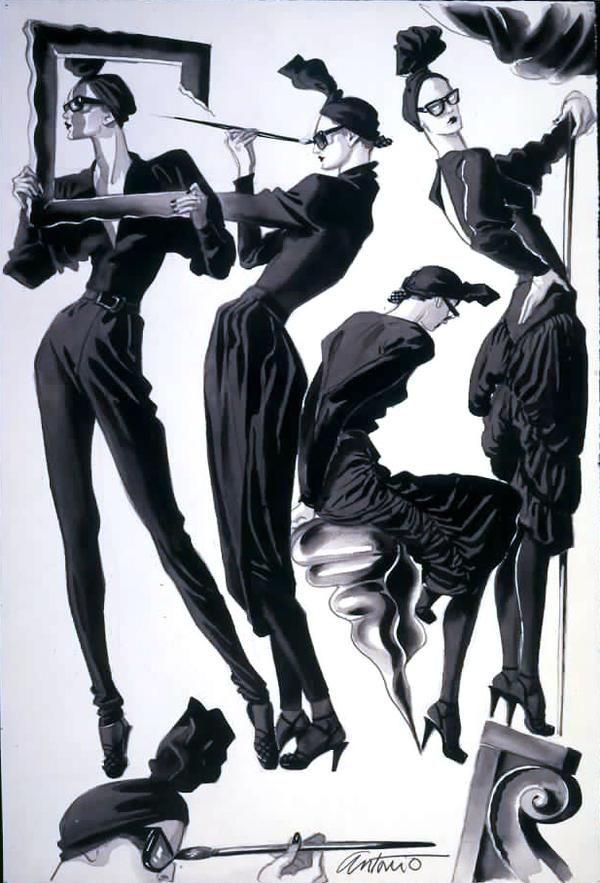 Antonio López art Fashion