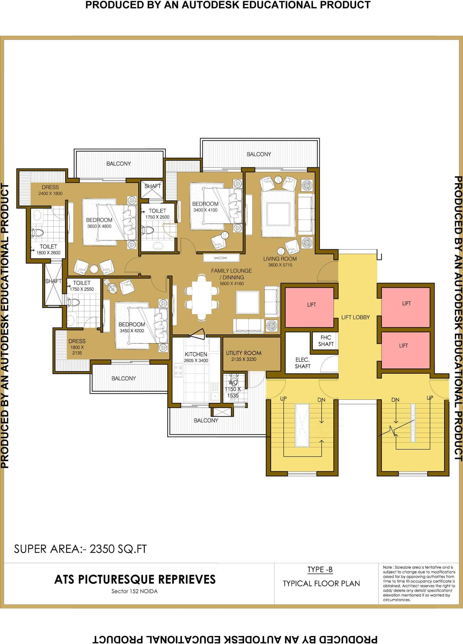 Ats Group 9899303232 Presents Residential Project Picturesque Reprievesin Sector 152 Noida Expressway Offers 3 Floor Plansapartments