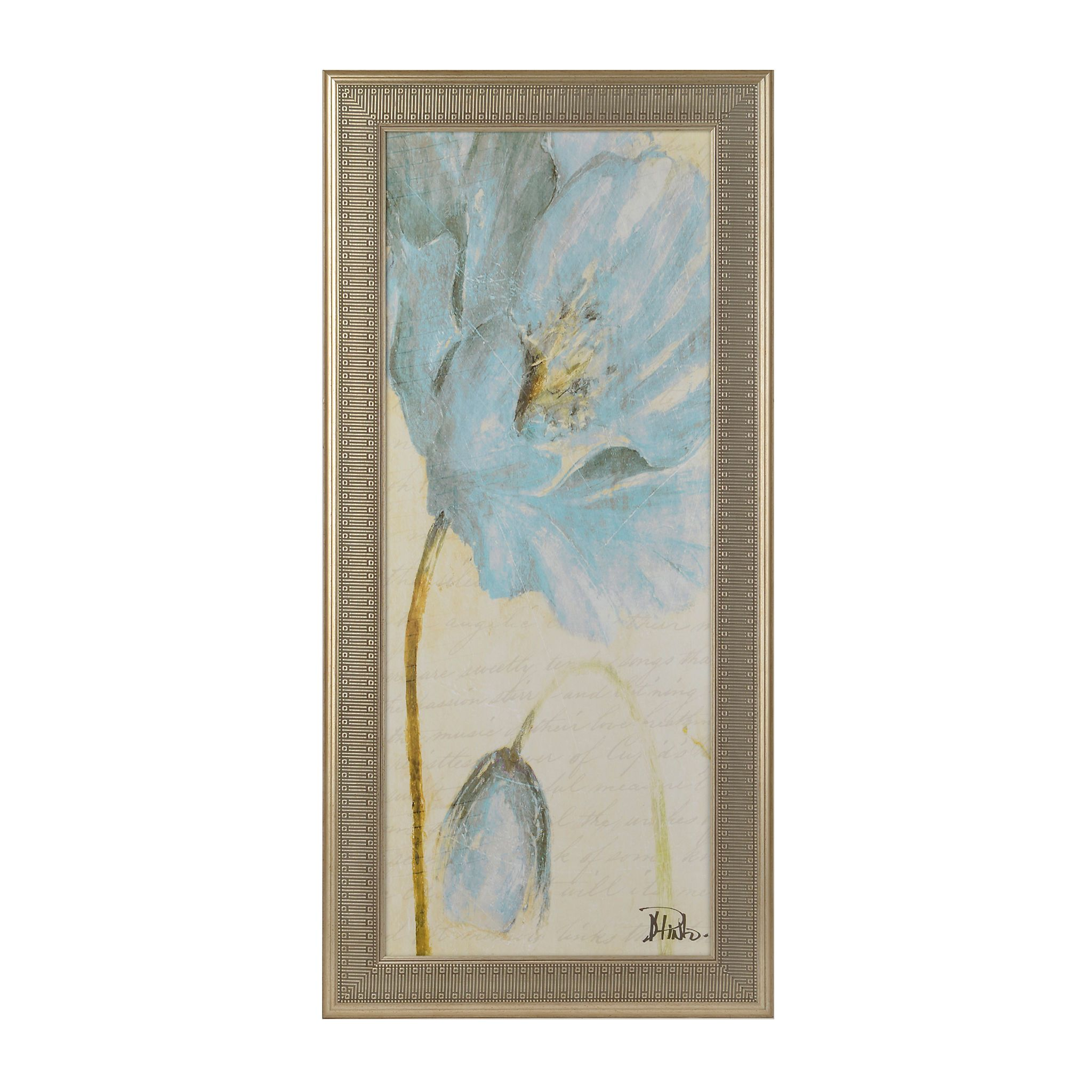 Blue Poppy I Framed Art Print | Kirklands | Furniture | Pinterest ...