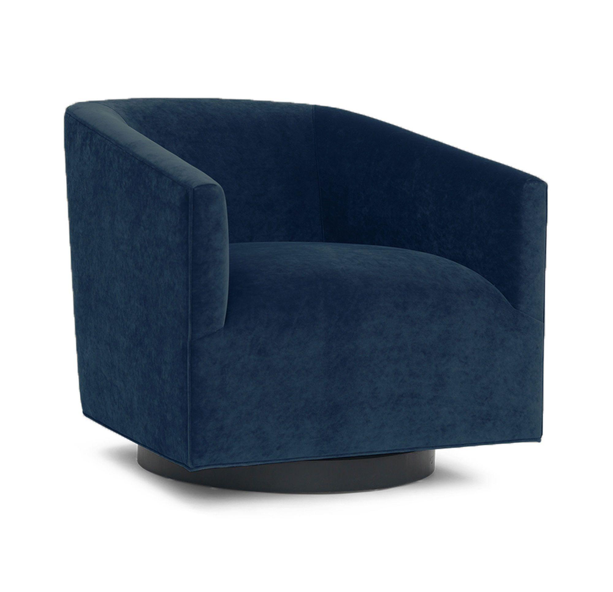 Peachy Cooper Full Swivel Chair Boulevard Deep Blu Hi Res Sk Creativecarmelina Interior Chair Design Creativecarmelinacom