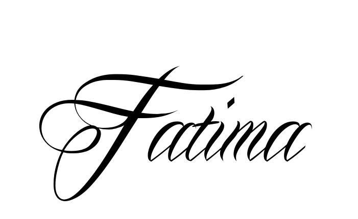 f0912a9ca Make it Yourself - Online Tattoo Name Creator | fatimah | Name ...