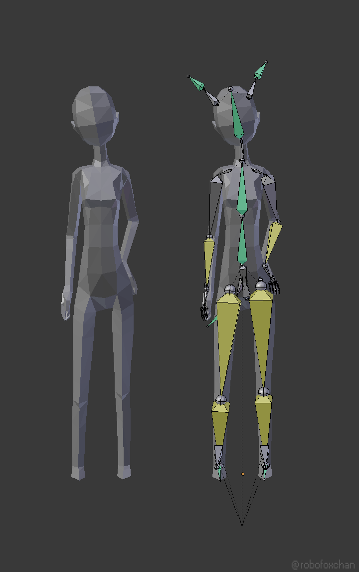 3d Models For Poser And Daz Studio: WIP. Rigged Female Mash. Pose Example. #3d #modelling