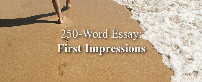250 word essay for college