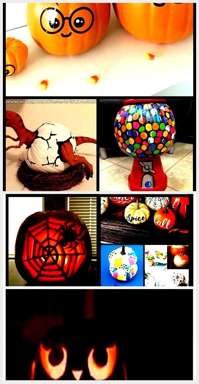 gum pumpkin, gumball machine pumpkin, painted pumpkin, carved pumpkin ideas, Hal... #pumpkinpaintingideascreative