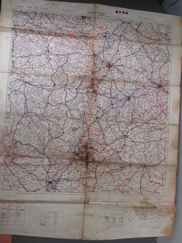 WW2 1944 War Department Issued German Leipzig-Plzen Pilsen Road Map Roadmap Of Germany on environment of germany, products of germany, road map western germany, partners of germany, introduction of germany, blueprint of germany, map of germany, detailed map germany, online maps germany, architecture of germany, education of germany, culture of germany, mop of germany, resources of germany, overview of germany, team of germany, terrain of germany, features of germany,