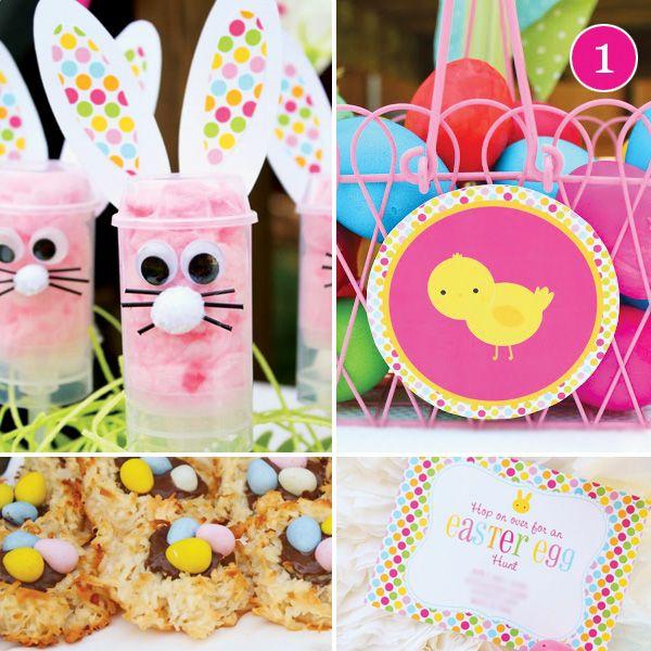 Easter Egg Hunt Pastel Baby Shower Soiree