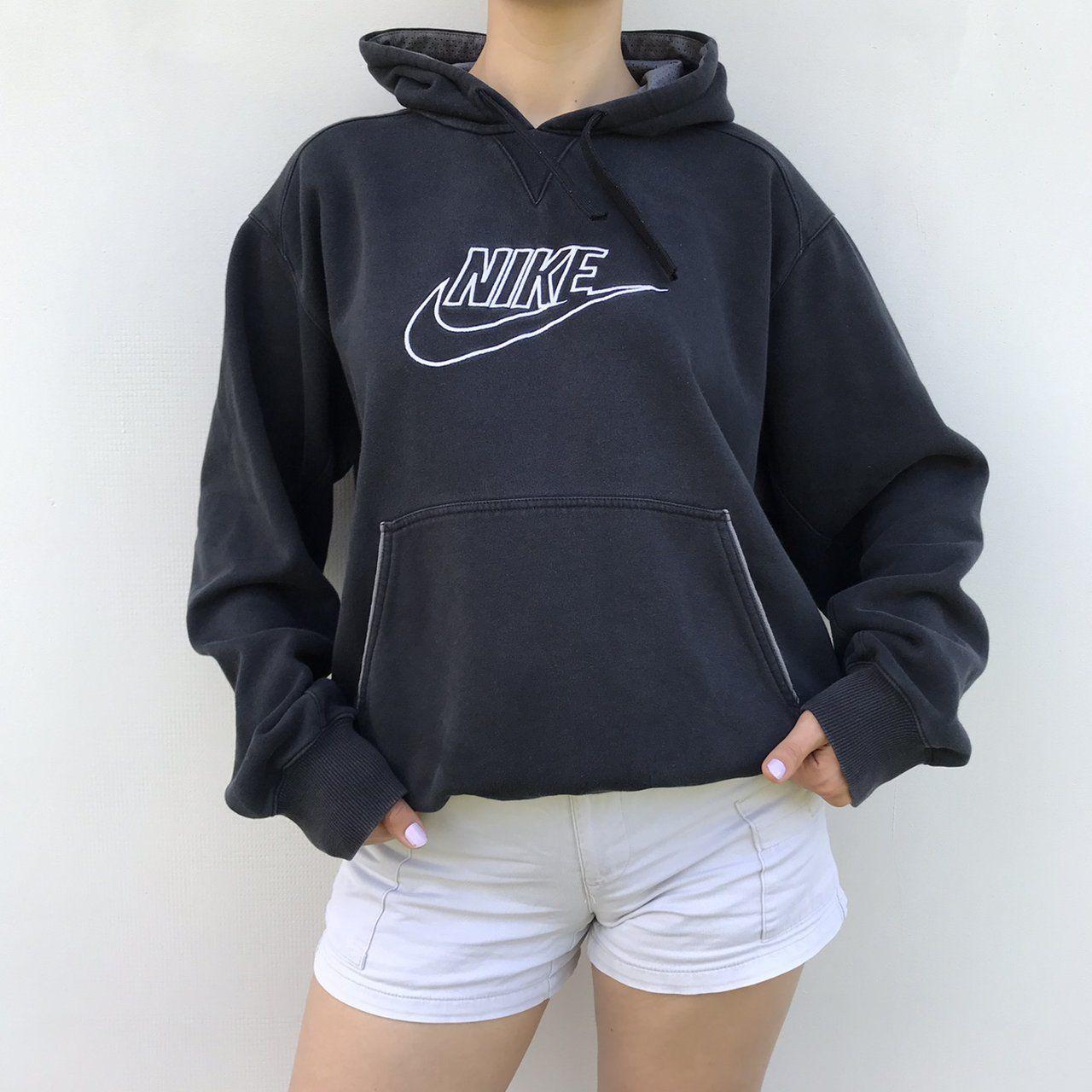 Unisex Vintage Nike Hoodie Embroidered Logo Size Depop Vintage Hoodies Nike Hoodie Outfit Vintage Nike Sweatshirt [ 1280 x 1280 Pixel ]