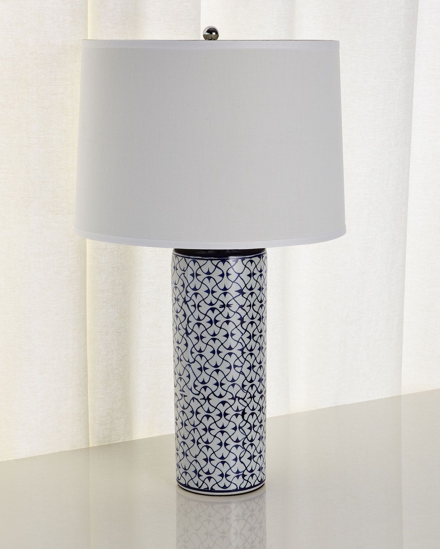 Ceramic Table Lamp Bluewhite Beach House Pinterest Ceramic