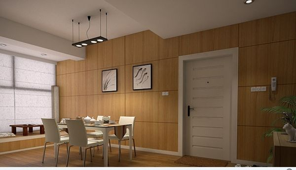 Modern Wood Wall Panels top 10 dining room designs with wooden wall panels | kitchen