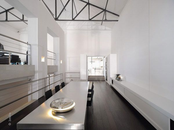 Water cleaning station converted into a striking modern mansion
