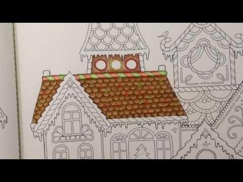 Johanna S Christmas Prismacolor Pencils Color Tutorial Part 1 Youtube Christmas Coloring Books Johanna Basford Christmas Prismacolor Pencils