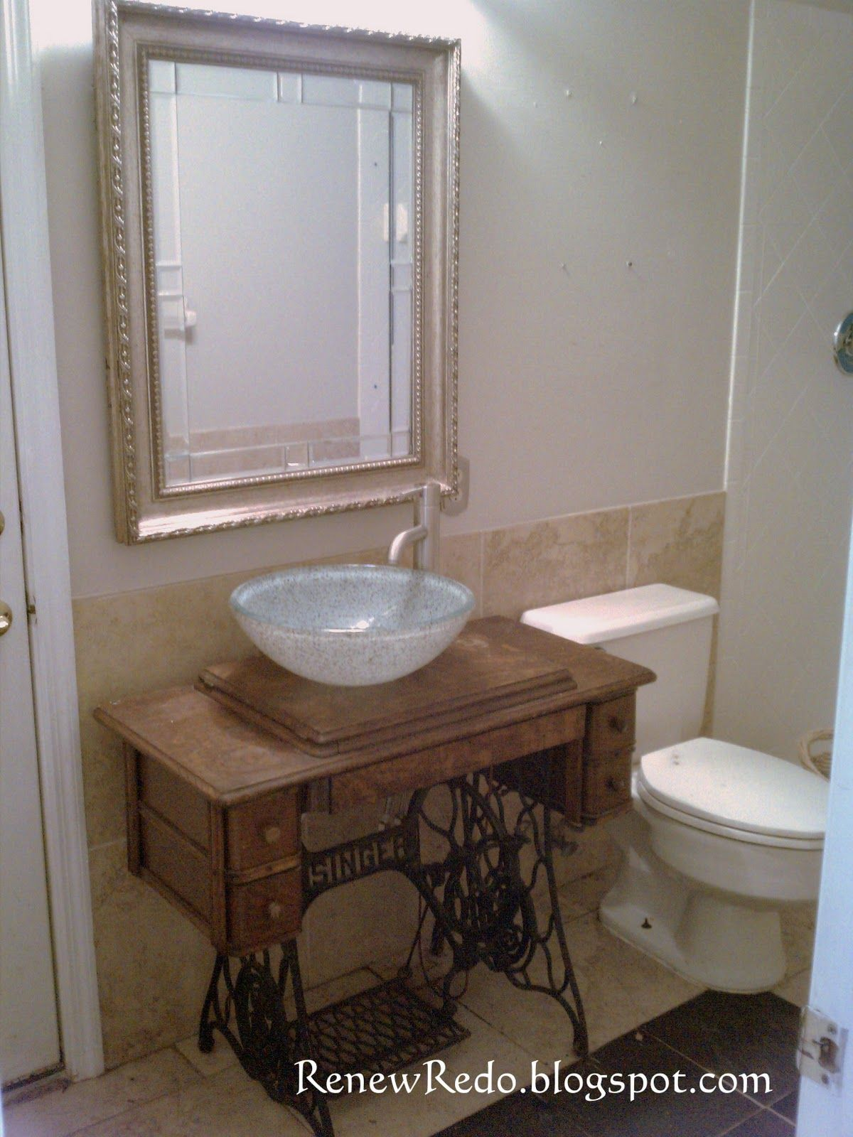 Sewing Machine Sink For The Home Pinterest Sinks