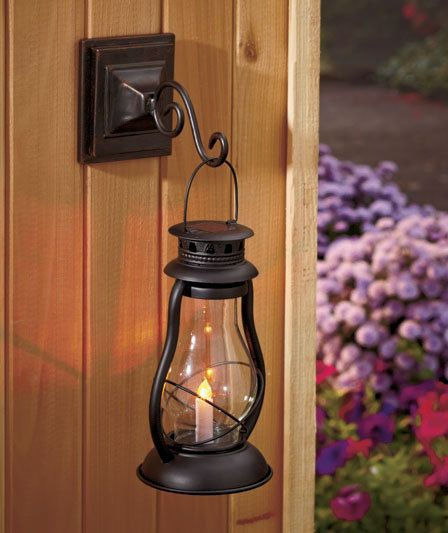 Old Fashioned Solar Lantern,Yard, Garden U0026 Outdoor Living, Lanterns