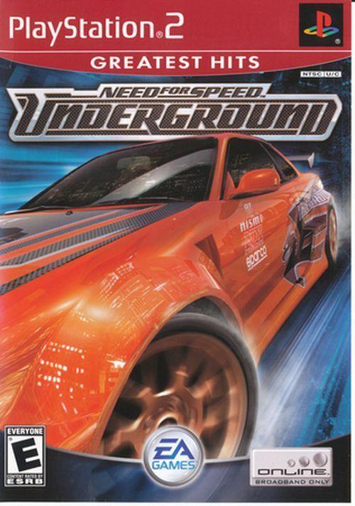 need for speed underground 2 xbox cover