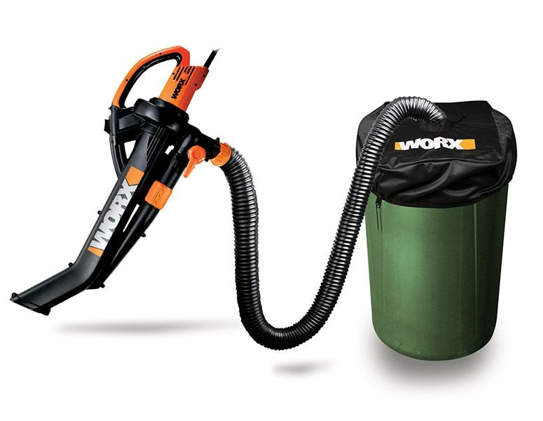 Worx Trivac Blower Mulcher Yard Vacuum With Leaf Collection System Combo Kit Best Riding Lawn Mower Vacuums