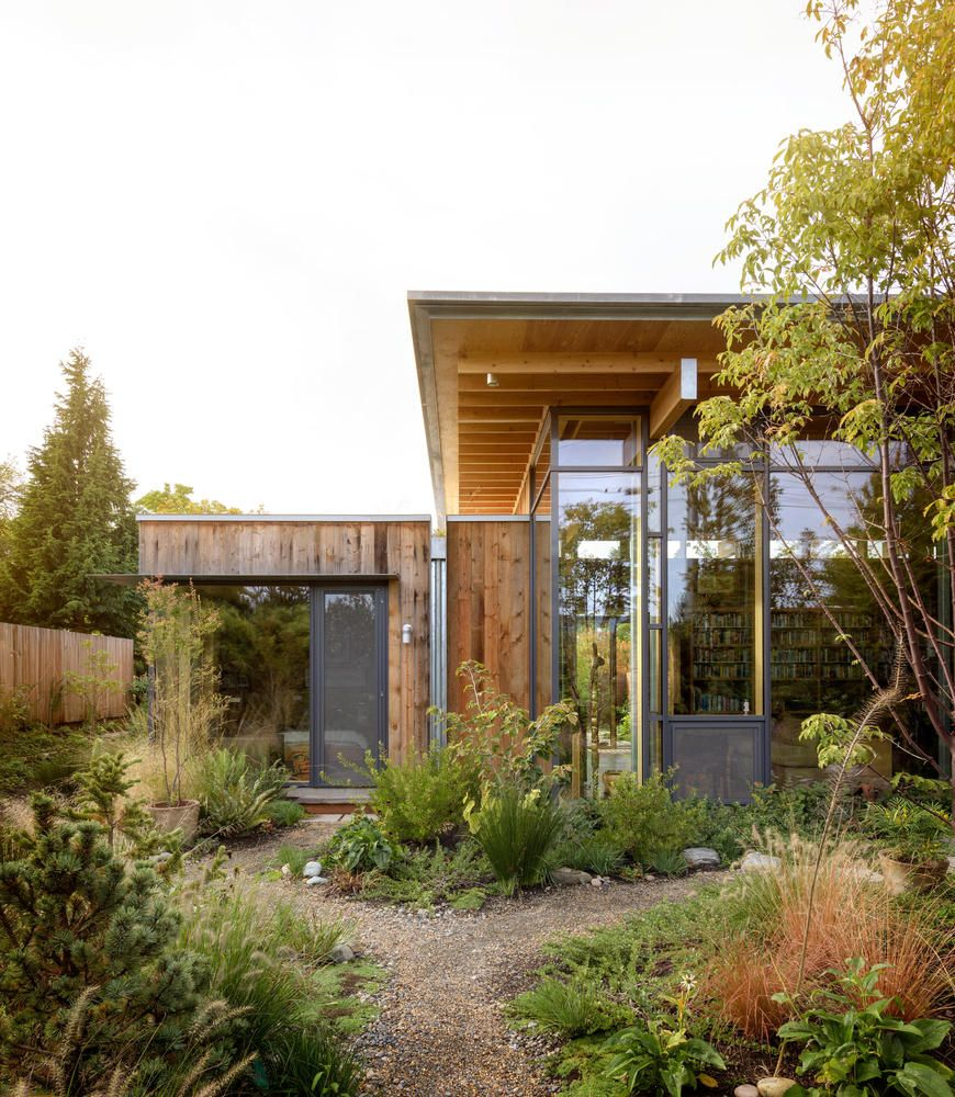 Gallery Of City Cabin Olson Kundig 2 Mid Century House Modern Exterior Architecture