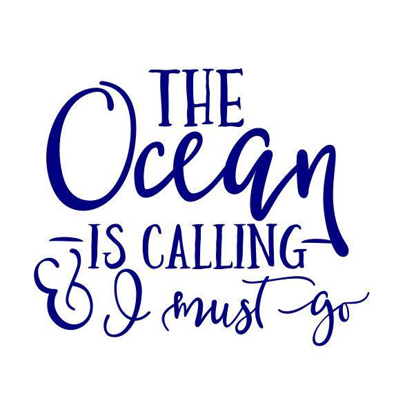 Ocean Decal Vinyl Decal Summer Decal Beach Decal Ocean Sticker
