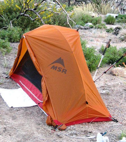 New MSR Hubba Tent- 1 Person Tent  7c6a6828fadb