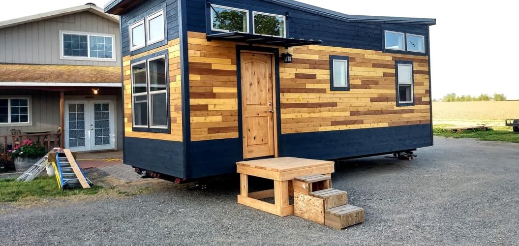 Contemporary Tiny House The Outlander Eco Minimalist Features