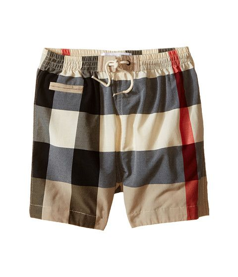 3c199439b0 Burberry Kids Swim Shorts (Infant/Toddler) | baby boy
