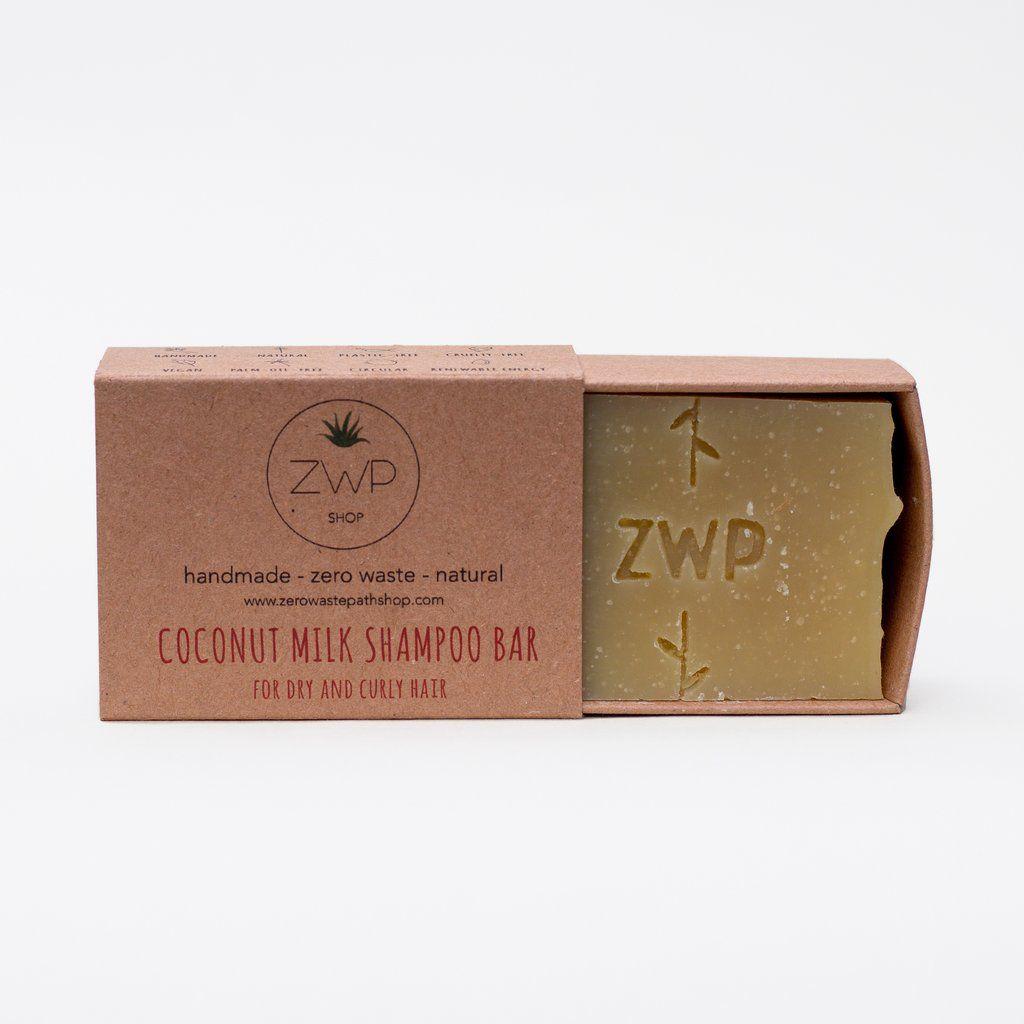 Zero Waste Path Coconut Milk Shampoo 100g in 2020
