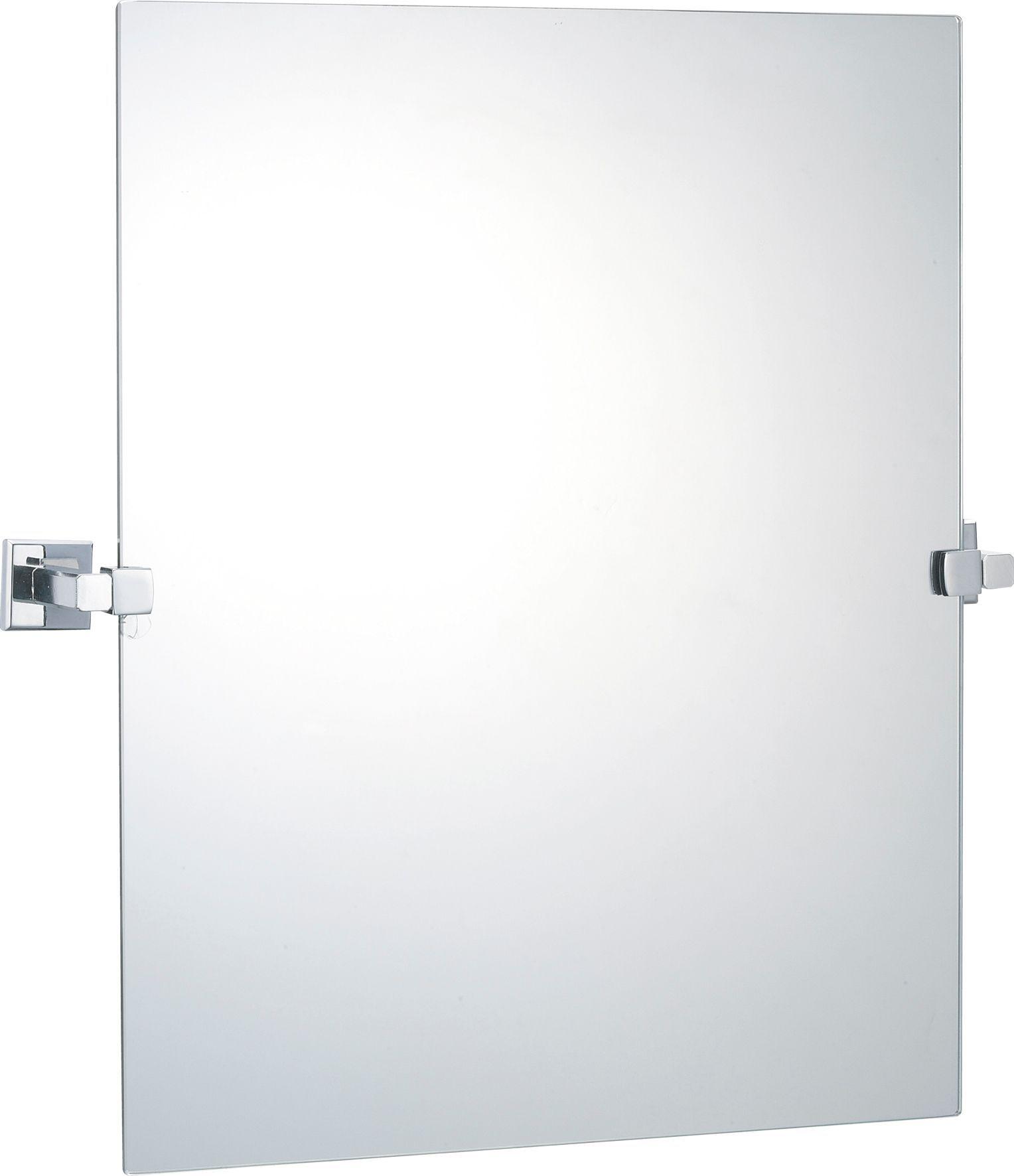 B&Q Linear Square Wall Mirror (W)470mm (H)500mm | Boys\' bathroom ...