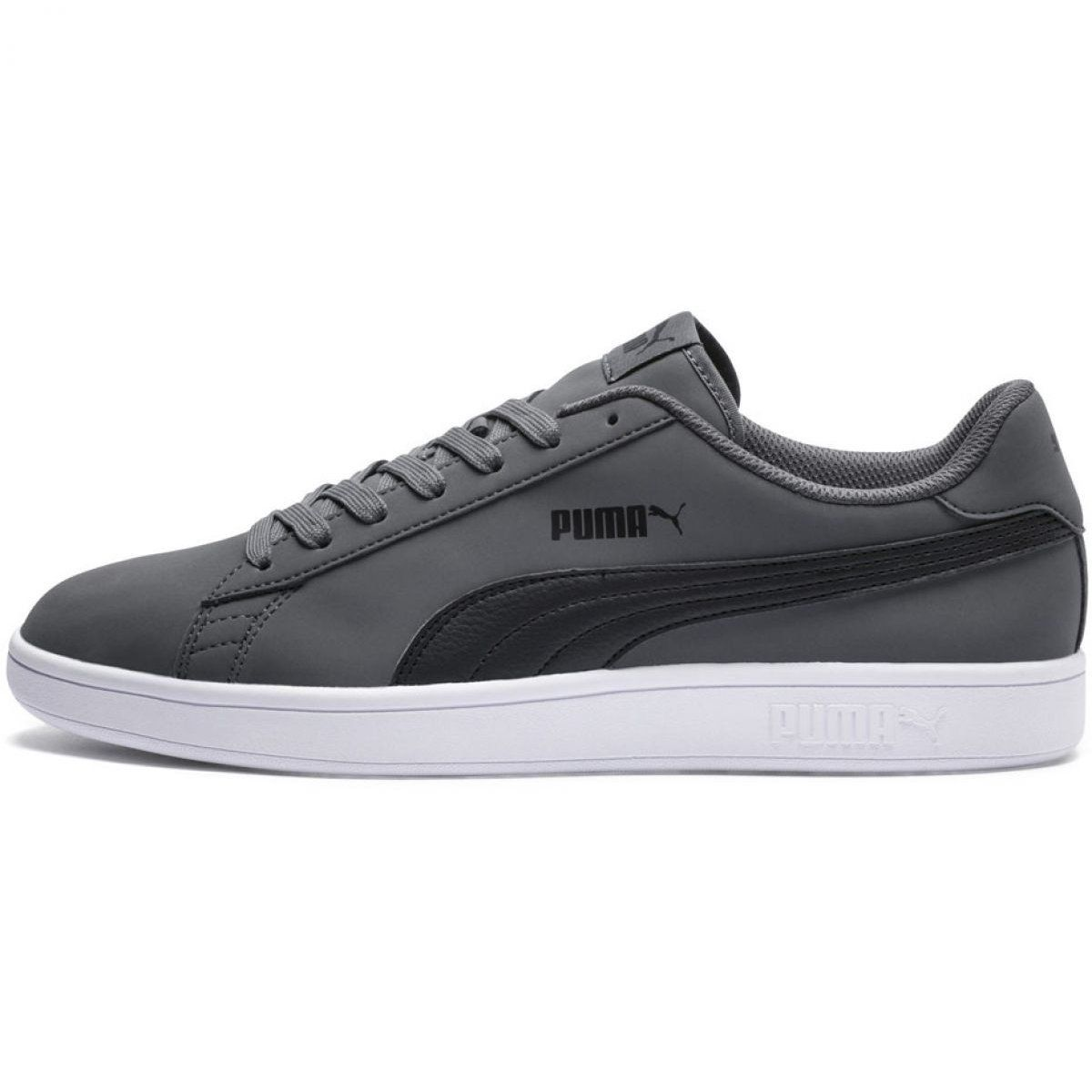 Buty Puma Smash V2 Buck M 365160 08 Szare Sport Shoes Men Puma Sports Shoes Puma