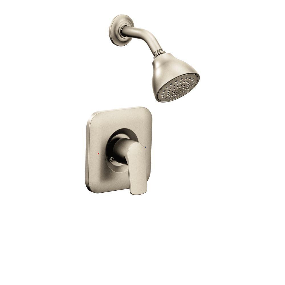 Moen Rizon 1 Handle Posi Temp Shower Faucet Trim Kit In Brushed