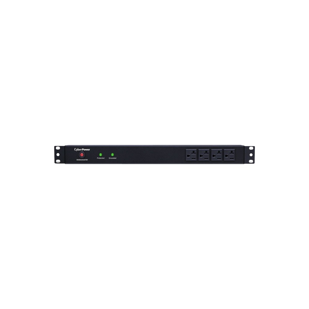 CyberPower RKBS20S4F8R 20A 12-Outlet 1U RM Rackbar Surge Suppressor