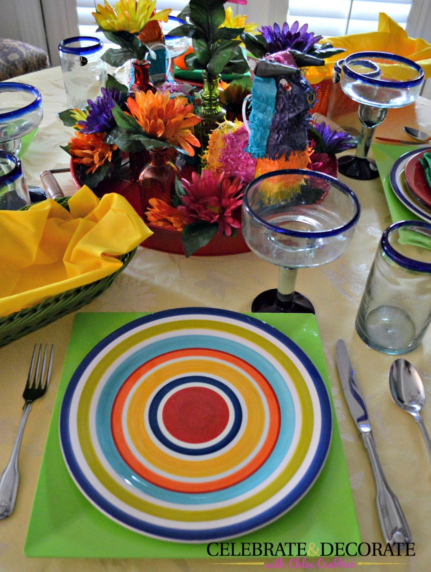 Cinco de Mayo Tablescape - Celebrate ...