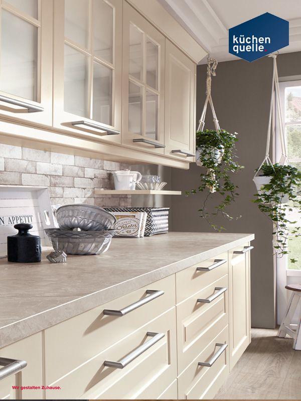 Mit dieser küchenzeile der norina 7706 magnolie lack kommt echtes landhausfeeling in deinen eigenen vier wänden