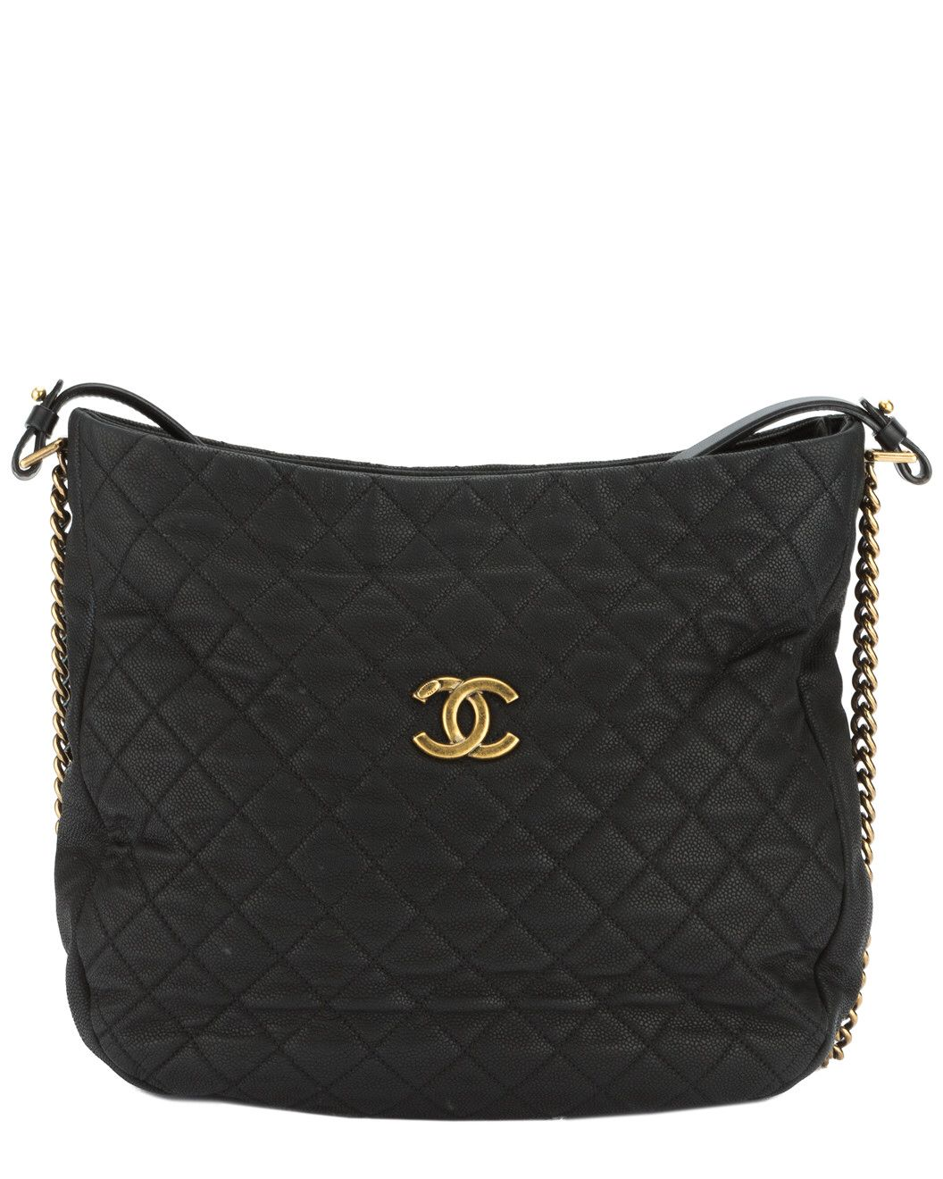 Spotted this Chanel Black Quilted Caviar Leather Hobo on Rue La La. Shop (quickly!).